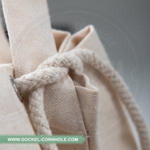 DUFFELBAG, hoogwaardige canvas tas voor al je cornhole bags!