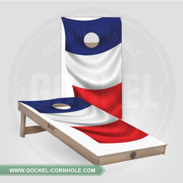 Cornhole boarden - Franse vlag