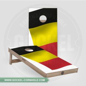 2 Cornhole boarden met Belgische vlag om op elk feest te spelen!