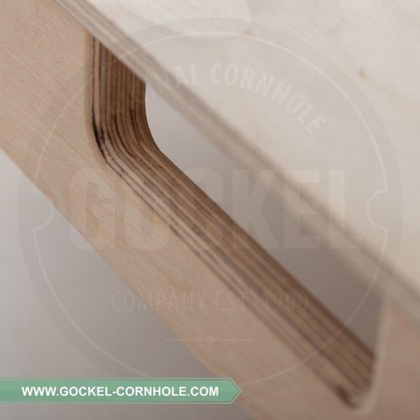 Alle GOCKEL cornhole producten worden professioneel met de hand vervaardigd en met trots geproduceerd in Europa.