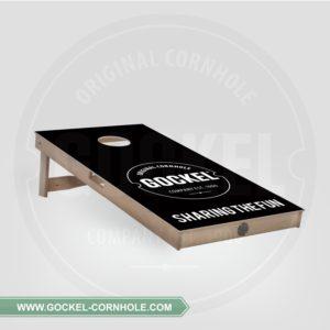 Cornhole Board met GOCKEL logo, om op elk event te spelen!