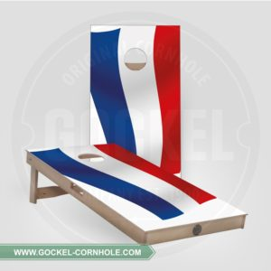 2 Cornhole boarden met Nederlandse vlag om op elk feest te spelen!