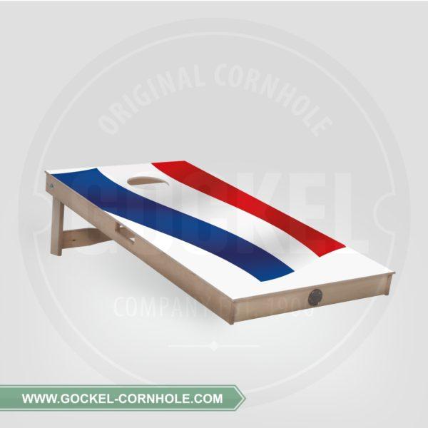 Cornhole board met Nederlandse vlag om op elk feest te spelen!