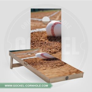 Set - Cornhole boarden met honkbal!