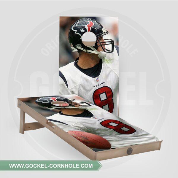 Cornhole boarden - American footbal speler