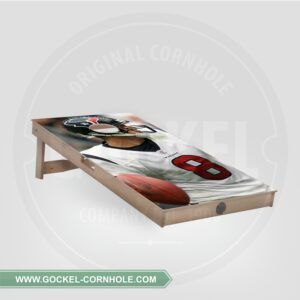 Single - Cornhole Board American Football speler!