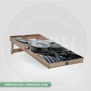 Single - Cornhole Board motor print!