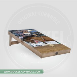 Single - Cornhole Board rodeo print!