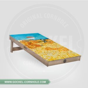 Single - Cornhole Board met de oogst van Vincent van Gogh!