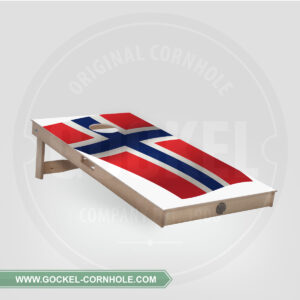 Cornhole board - Noorse vlag