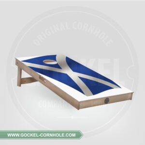 Cornhole board - Schotse vlag
